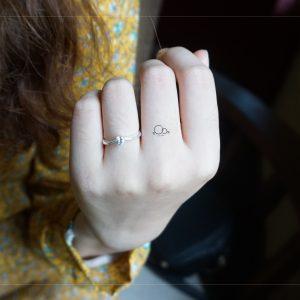 Nhẫn đá chủ đơn